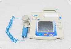 写真:呼吸機能検査